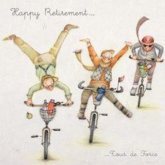 "Cards ""Happy Retirement "" - Berni Parker Designs ღ✟ Birthday Wishes, Birthday Cards, Friend Crafts, Crazy Friends, Jolie Photo, Best Friends Forever, Funny Cards, Cute Illustration, Cartoon Art"