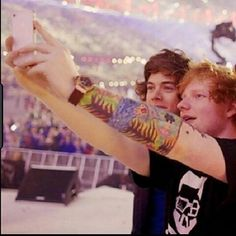 Harry and Ed.