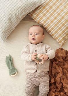 Oppskrifter - Baby - Strikke - Norsk - Sandnes Garn Jumper, Onesies, Aqua, Kids Rugs, Beige, Threading, Water, Kid Friendly Rugs, Jumpers