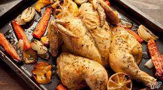 Butterflied Roasted Chicken