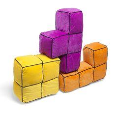 Tetris 3D Cushions