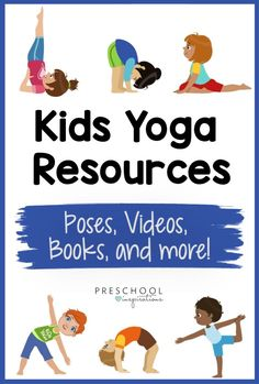 Yoga for Kids - Preschool Inspirations Mindfulness For Kids, Mindfulness Activities, Team Building Activities, Learning Activities, Free Activities, Indoor Activities, Kindergarten Activities, Yoga Song, Yoga Music