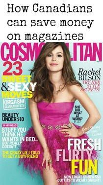 How Canadians can get American Magazines for cheap! - Grocery Coupons, Coupons for Canada, Coupons online, printable coupons