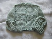 Cozy's Corner: Little Owl Sweater Set Pattern....I wish I could knit!! This is so cute!!