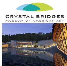 crystal bridges | Crystal Bridges Museum of American Art is just a short, scenic drive ...