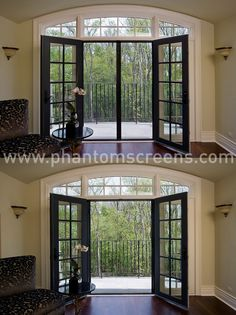 French Doors With Screens