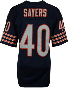 Mitchell   Ness Men s Gale Sayers Chicago Bears Replica Throwback Jersey  Men - Sports Fan Shop By Lids - Macy s e67c86421