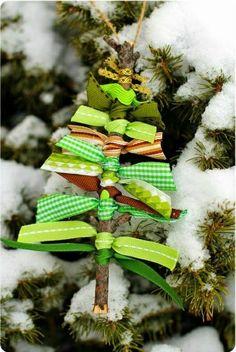 leichte deko für weihnachten