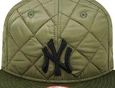 New York Yankees Heavy Twill Army Green 9Fifty Snapback Cap by NEW ERA x  MLB Snapback 094d758c2a7