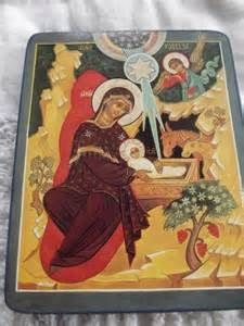 Eastern Orthodox Icon Birth of Jesus Birth Of Jesus, Orthodox Christianity, Orthodox Icons, Painting, Art, Art Background, Painting Art, Kunst, Paintings