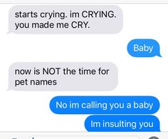 (texts between ella and hiro. ella is the blue text.)