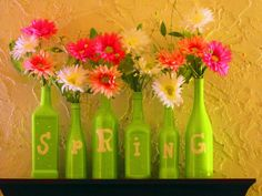 A Fun Spring Bottle project...enjoy!