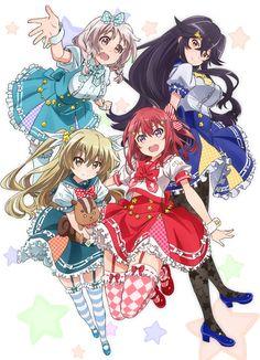 """""""Himeki Chifuyu""""""""Kanzaki Tomoyo""""""""Kushikawa Hatoko""""""""Takanashi Sayumi"""" Nichijou, Chica Anime Manga, Anime Art, Female Characters, Anime Characters, Familia Anime, Anime Recommendations, Female Anime, Anime Sketch"""