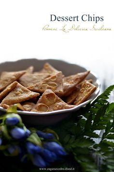 Dessert di ricotta con chips di cannoli http://www.zagaraecedro.ifood.it/2016/10/dessert-di-ricotta-e-chips-di-cannoli.htm
