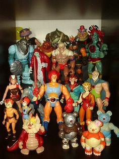 Thundercats Collection Display