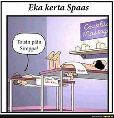 Eka kerta Spaas - HAUSK.in Mens Clothing Styles, Funny Pictures, Family Guy, Inspirational Quotes, Thoughts, Words, Couples, Recipe, Humor