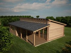 Houtskeletbouw Chalet Toscane | Houten huis bouwen #simple #timber #house really #cheap and with a #nice #porch