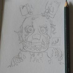 Un piccolo,(anzi il primo)sketch dello straordinario Springtrap,direttamente dal Family Diner-!! ������ Se questa versione vi piace così tanto,cercherò di farne una mia,che comprende sia la versione \