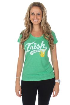 702a0413f Women's Irish I Had A Beer Tee (Green). Tipsy ElvesFunny Drinking ShirtsGreen  BeerSt Patrick's Day ...