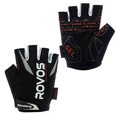 Boys' Cycling Gloves - SBD ROVOS Mens Sports Professional Training Biking Riding Gloves Cycling Accessories >>> More info could be found at the image url.