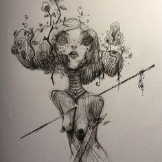 Sketchbook by moon , via Behance