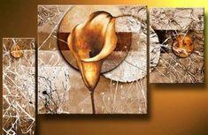 Floral Art Painting, Canvas Art, Wall Art Decor, Dining Room Wall Art, – Silvia Home Craft