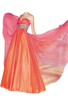 Ivydressing Women's Empire Sweetheart Prom Gown Dresses with Ruffles-26W-Orange. Empire princess design, center back lace up, built in bra. Neckline: sweetheart. Floor length, appliques sash. Appliqued sash. All products are subject to material objects because the shooting light and setting of your computer screen may cause slight color mismatches.