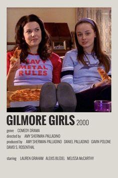 alternative minimalist polaroid poster made by (me) Iconic Movie Posters, Minimal Movie Posters, Minimal Poster, Iconic Movies, Posters Wall, Girl Posters, Gilmore Girls Poster, Series Poster, Libro Gravity Falls