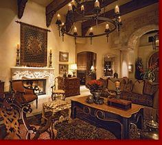 Tuscany Living Room Tuscany Living Room With Earthy Colors