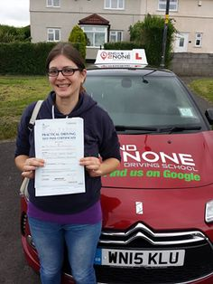 Congratulations to Meggie Matchett who passed her driving test first time in Southmead today :) with just 3 minor faults and a perfect reverse around the corner! Meggie came to instructor Kevin Allen and after only 2 weeks with him she passed!! Well done Meggie & safe driving in the future from your instructor Kevin Allen and all at 2nd2None Driving School  http://www.2nd2nonedrivingschool.co.uk/
