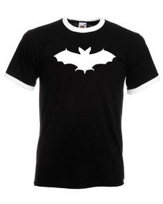 Bat Baby Rib T Shirt Halloween Funny Dress Fancy Party Top Tee Fashion Hipster