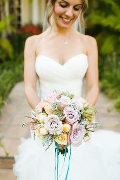 nautical wedding bouquet