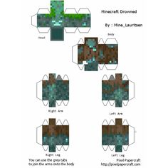 Minecraft Blocks, Minecraft Mobs, Minecraft Modern, Minecraft Designs, Minecraft Pixel Art, Minecraft Crafts, Minecraft Party, Minecraft Skins, Papercraft Minecraft Skin