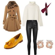 A fashion look from September 2015 featuring Tory Burch sweaters, Helmut Lang pants and Cole Haan loafers. Browse and shop related looks.
