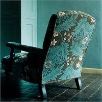 The Original Morris & Co - Arts and crafts, fabrics and wallpaper designs by William Morris & Company | Products | British/UK Fabrics and Wallpapers | Larkspur (DKELLA302) | Pimpernel