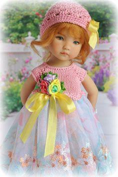 "OOAK OUTFIT FOR DOLLS Little Darlings Effner 13"" #Madebyme"