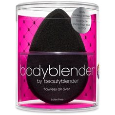 Beauty Blender174 Black Beauty Blender Body ($28) ❤ liked on Polyvore featuring beauty products, bath & body products, body moisturizers, black and beautyblender
