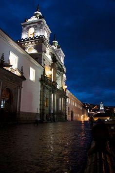 Quito - Iglesia de San Francisco