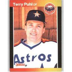 Terry Puhl - Houston Astros