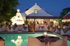 Papiamento Restaurant in Aruba~seriously one of the prettiest and best restaurants we ate while there