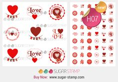 Your place to buy and sell all things handmade Love Days, Sugar Art, Meringue, Happy Valentines Day, New Day, Cool Stuff, Stuff To Buy, Cake Decorating, Stamp