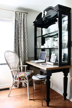 the HUNTED INTERIOR: HOME TOUR, love this hutch