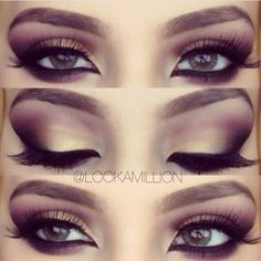 maquillaje ahumado en cafe - Google Search