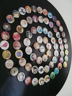 Collection magnets ronds - Libellulobar magnets - http://www.libellulobar.com/magnet-shop/