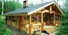 Log Cabin Kit Homes: Kozy Cabin Kits! really big idea for part time living in Alaska (summer's only.