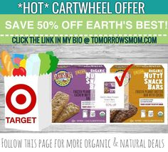 Open your cartwheel App  GO to link in my bio @tomorrowsmom for details on this deal. . . . Visit My Blog: TomorrowsMom.com |Organic & Natural Deals|Family Savings Deals| . TAG OR DM THIS DEAL 2 A FRIEND . . #frugal #savings #deals #cosmicmothers  #organic #fitmom #health101 #change #nongmo #organiclife #crunchymama #organicmom #gmofree #organiclifestyle #familysavings  #healthyhabits #lifechanging #fitpeople #couponcommunity #deals  #healthyppl #motherhood #organiccouponing  #tomorrowsmom