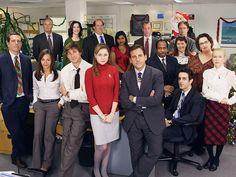 Creed, Hannah, Kevin, Kelly, Toby, Dwight, Andy, Karen, Jim, Pam, Michael, Stanley, Meredith, Phyllis, Ryan, & Angela | Scranton Branch Christmas Party