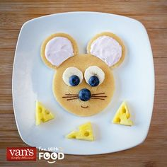 fabulous and wonderful breakfast plates for kids - Delicious Food Cute Snacks, Cute Food, Good Food, Yummy Food, Food Art For Kids, Cooking With Kids, Cooking Rice, Easy Cooking, Healthy Cooking