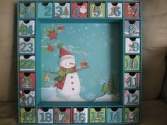 Kaisercraft advent calendar by Kylie Davey