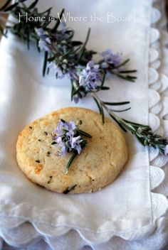 Recipe parmesan shortbread cookies